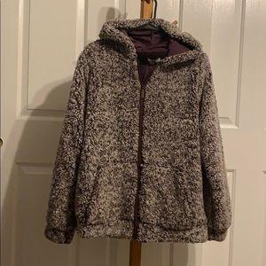 A soft purple/white jacket from Kori